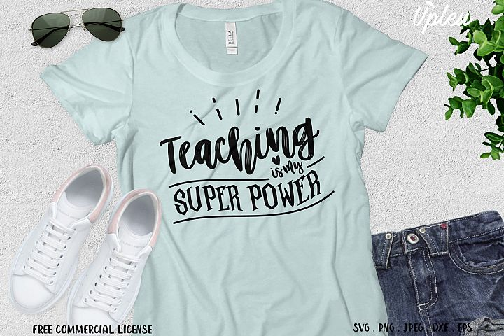 Teaching is My Super Power SVG
