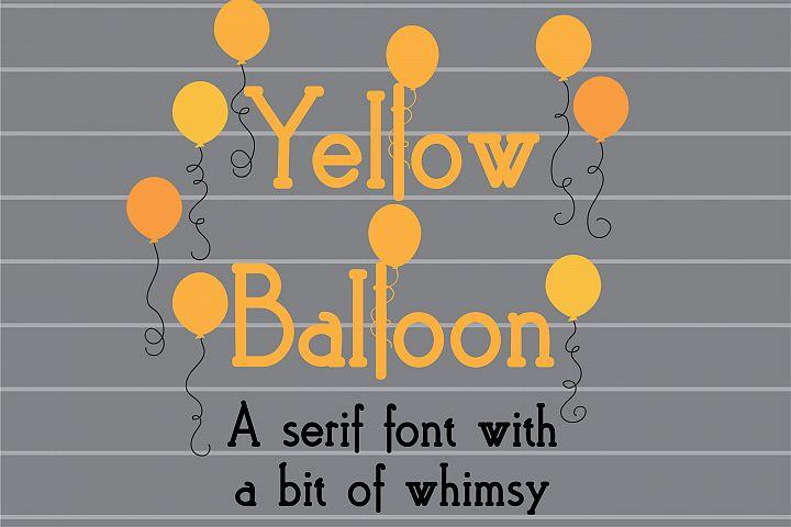 PN Yellow Balloon