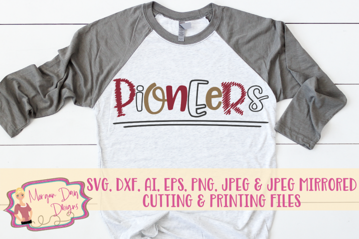 Pioneers SVG, DXF, AI, EPS, PNG, JPEG