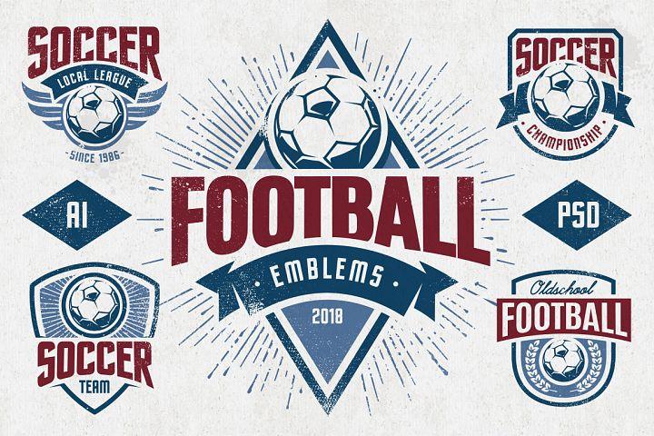 Football Emblems | Logo Templates