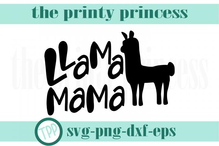 Llama Mama svg, Llama design file