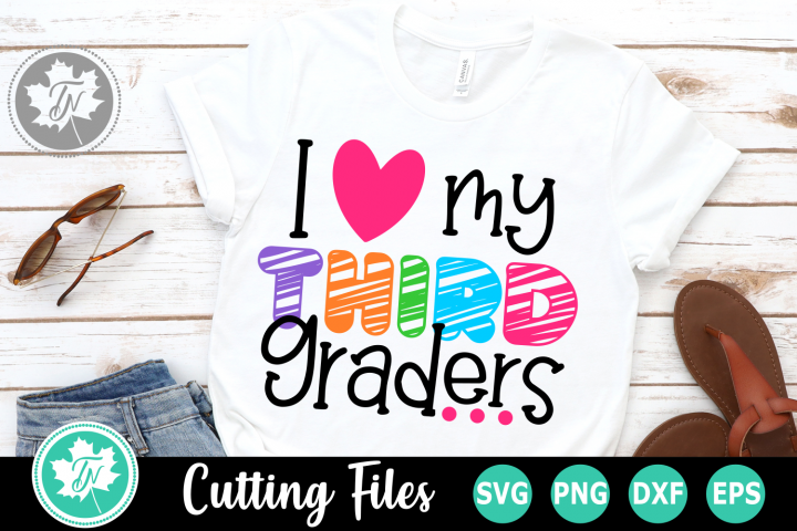 I Love My Sixth Graders - A School SVG Cut File