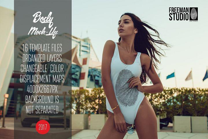 Bodysuit Mock-Up 2017 Vol.3
