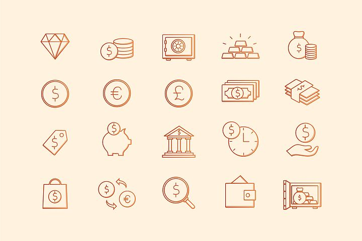 Banking & Finance Icons