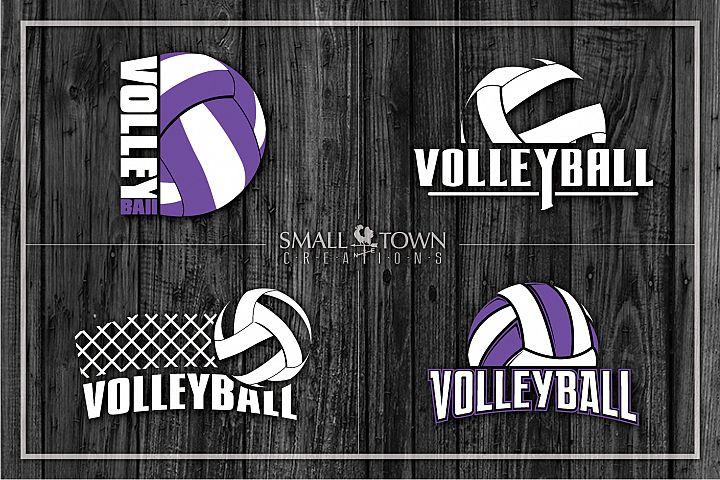 Volleyball bundle, Volleyball net, ball, PRINT, CUT & DESIGN