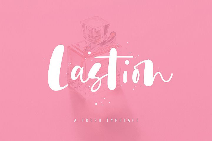 Lastion Typeface
