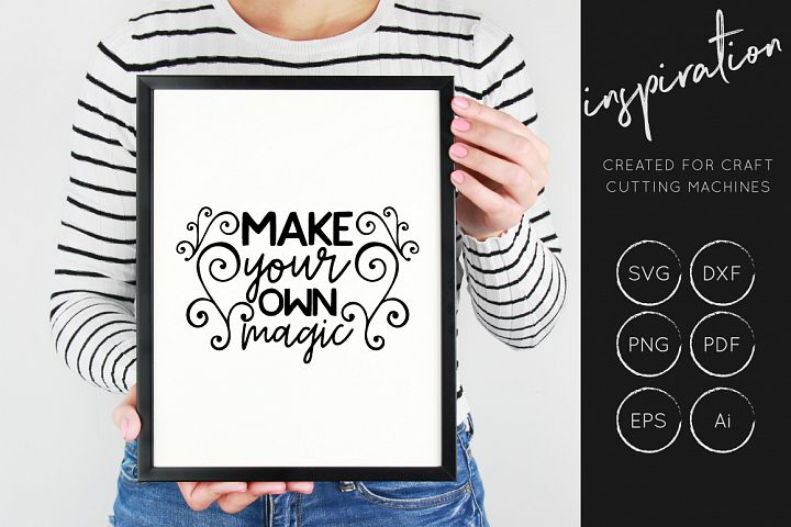 Inspirational Quotes SVG Cut File Bundle - Design Collection - Free Design of The Week Design 8