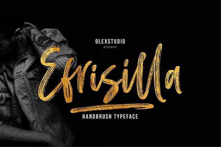 EFRISILLA - Handbrush Script