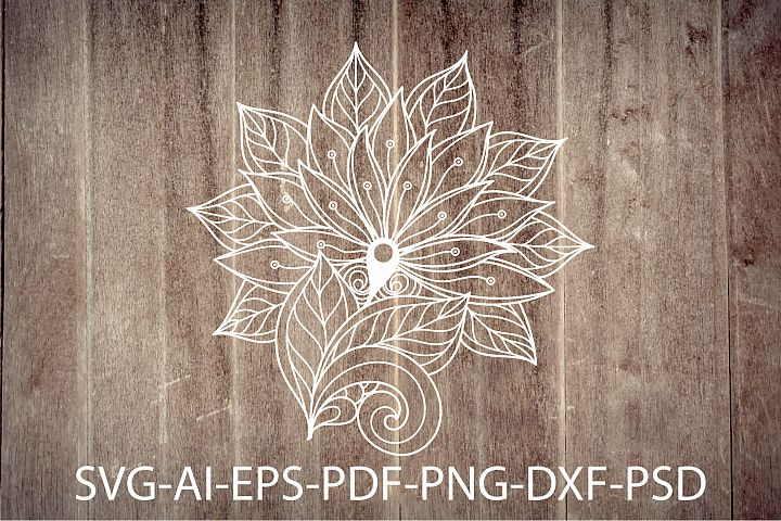 Zentangle Flowers | SVG files