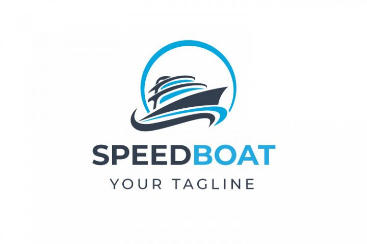 Speed Boat Logo Design