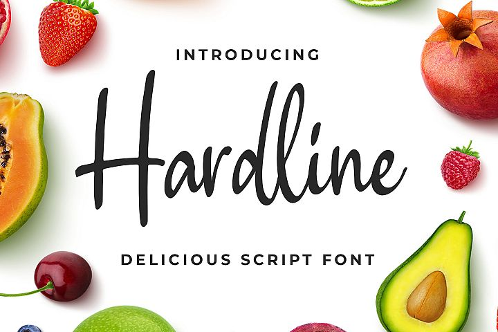 Hardline - Delicious Script Font