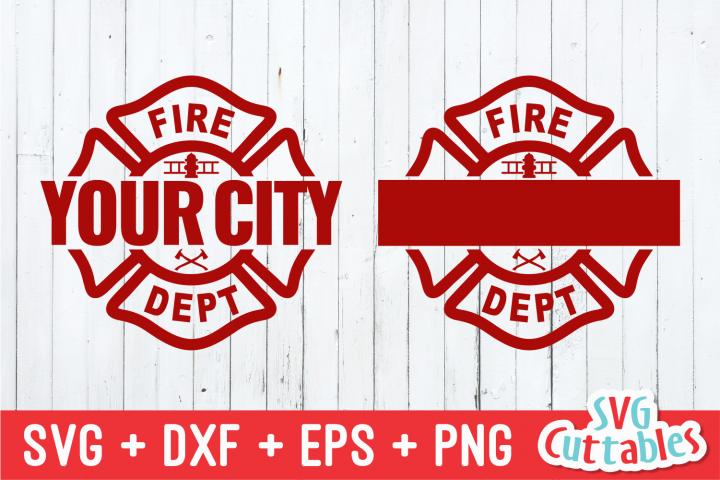 Maltese Cross Template | Firefighter Cut File