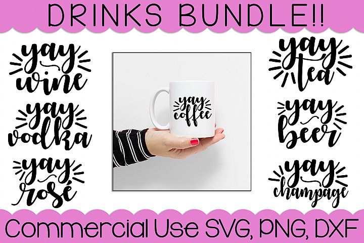 Yay Drinks | SVG Bundle
