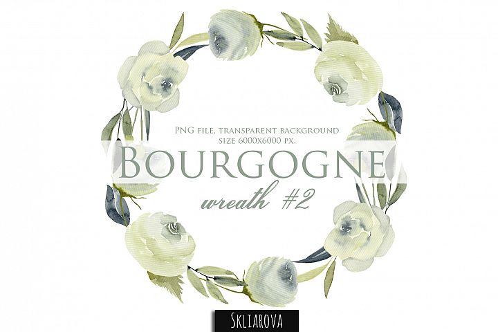 Bourgogne. Wreath #2