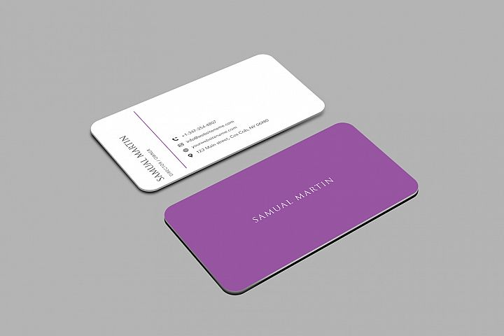 Beautiful Simple Classy Modern Business Card