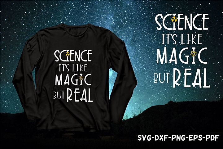 science its like magic but real, back to school svg,