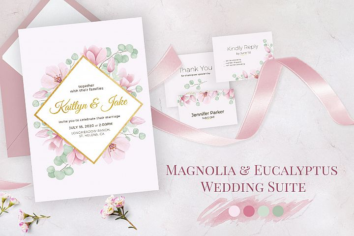 Magnolia & Eucalyptus Wedding Suite