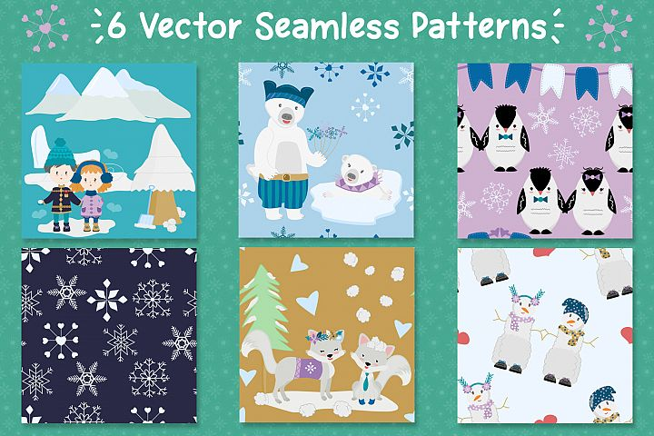 Winter Love - Graphics and Patterns example 4