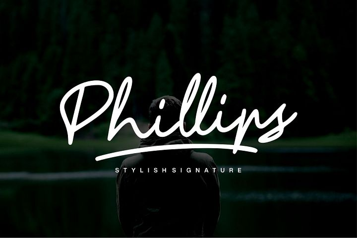 Phillips - Stylish Font