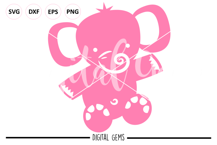 Elephant SVG / PNG / EPS / DXF Files