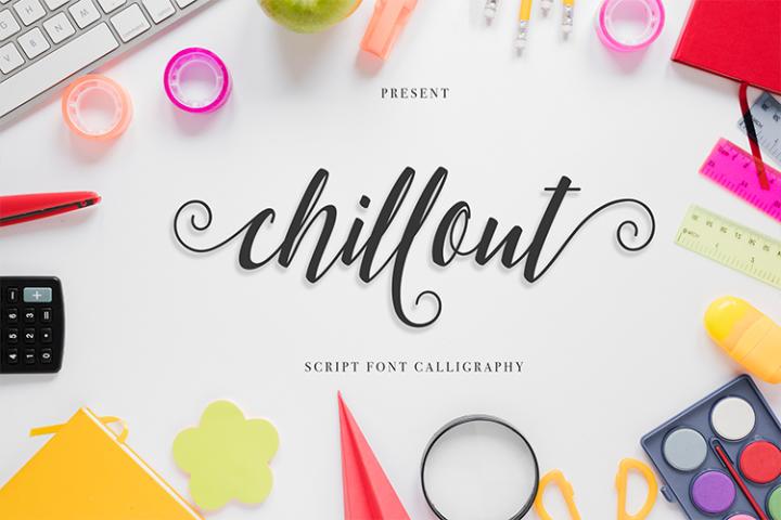 chillout Script Font