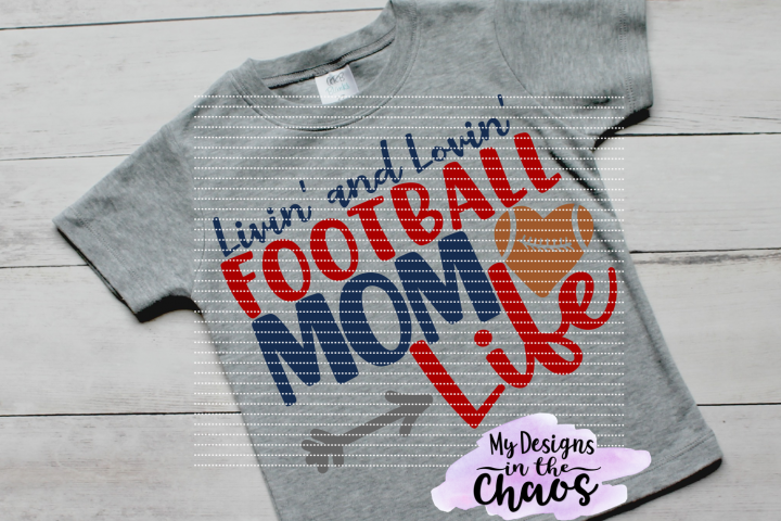 Football Mom SVG | Football SVG | Football Mom Design | Silhouette | Cricut | Sports SVG