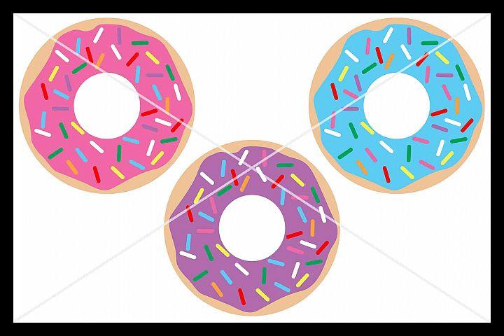 Donut SVG, Doughnut SVG, Silhouette Cameo, Cricut, Cut File
