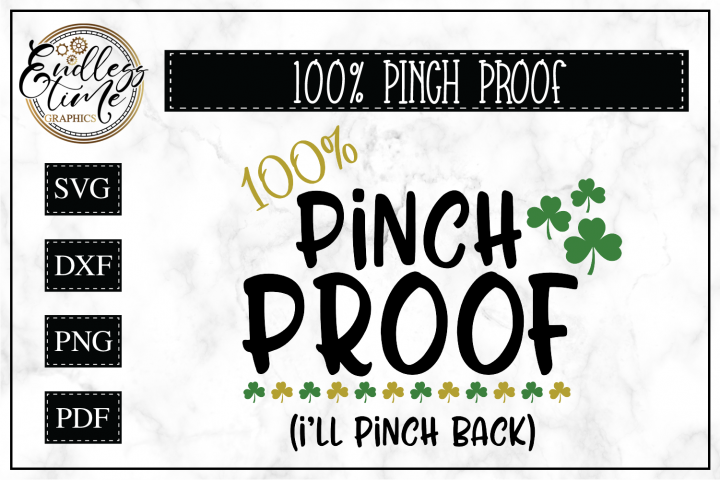 St Patricks Day- Pinch Proof SVG Cut File