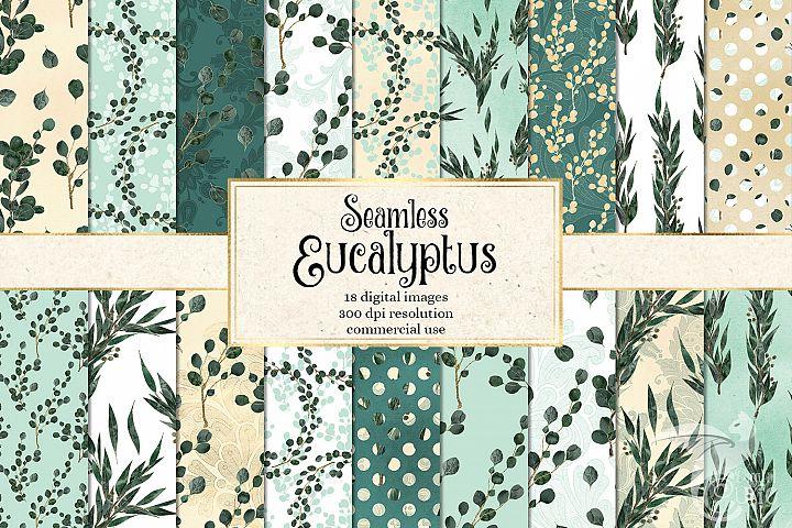 Eucalyptus Digital Paper