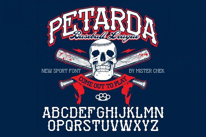 Petarda Sport Font