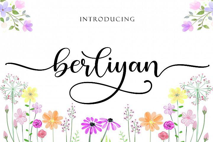 Berliyan script