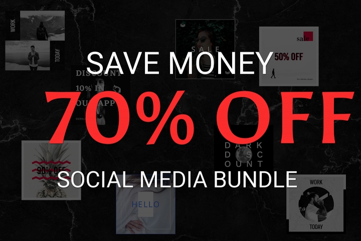 Four in One Social Media Bundle