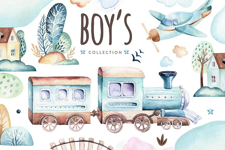 Boys world.  Its a boy collection!