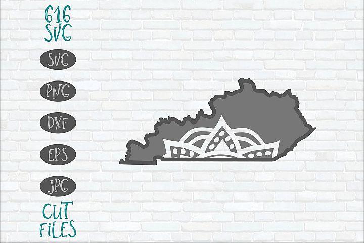 Kentucky Mandala SVG