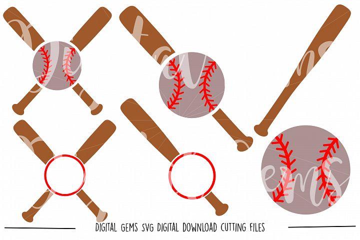 Baseball SVG / DXF / EPS / PNG files