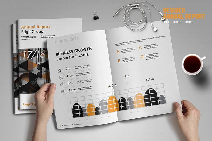 Devided Annual Report Template