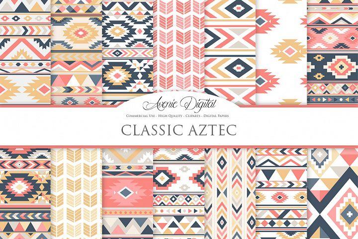 Classic Boho Seamless Patterns