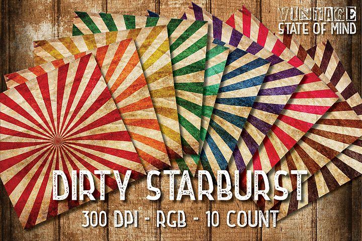 Dirty Starburst Digital Papers