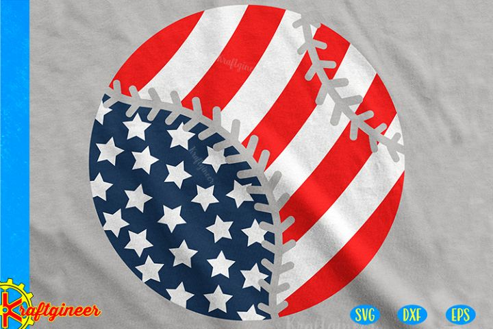 Baseball Flag SVG | Sports SVG