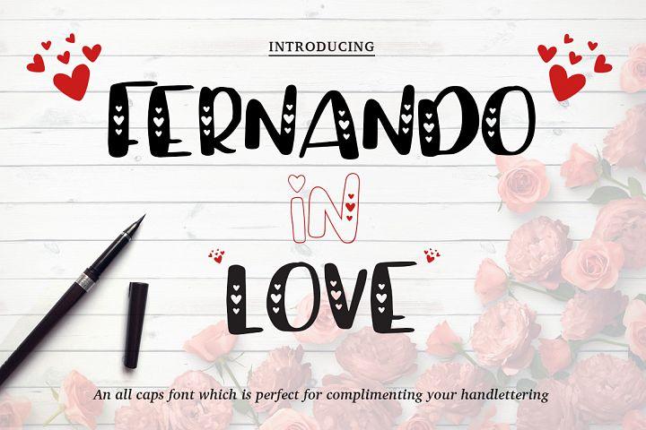 Valentine's Font Bundle with 6 Free Procreate Brushes example image 3