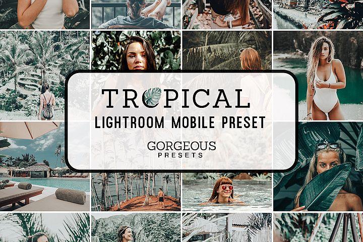 Mobile Lightroom Preset TROPICAL