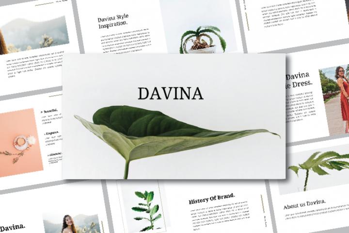 DAVINA - KEYNOTE TEMPLATES
