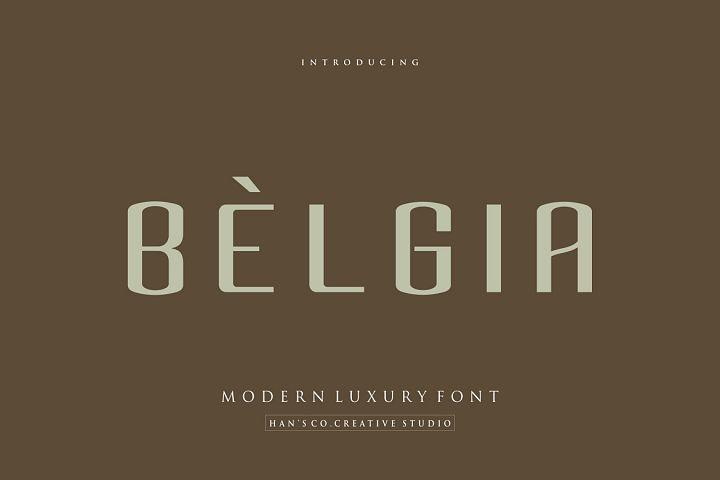 Belgia Font