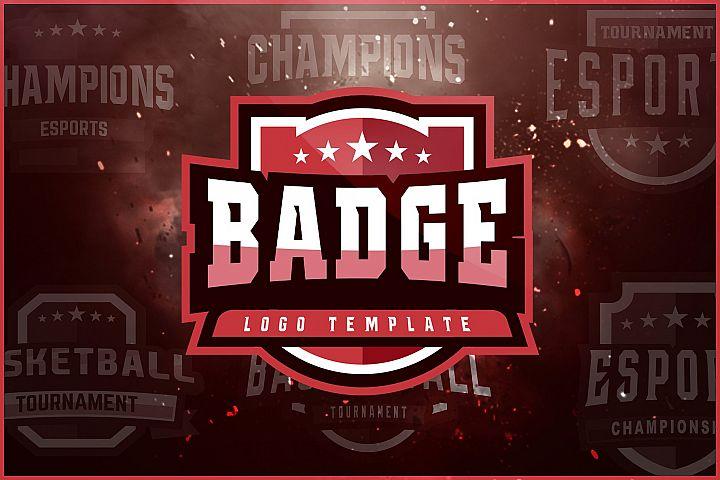 Badge Logo Template