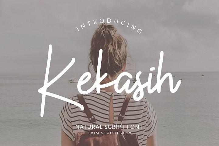 Kekasih - Shophisticated Signature Font