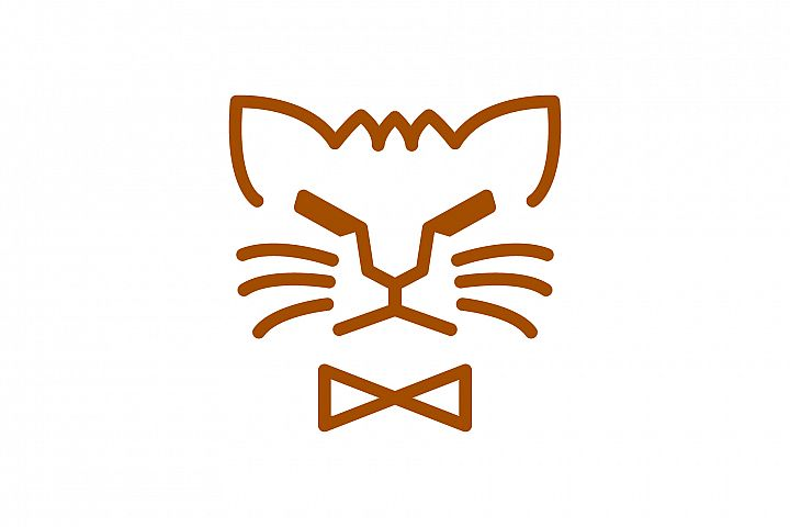 Cat Face Logo