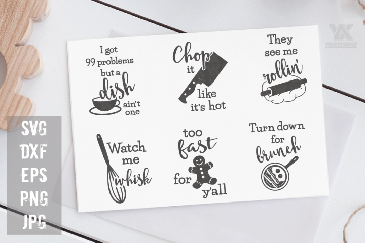Kitchen SVG Bundle