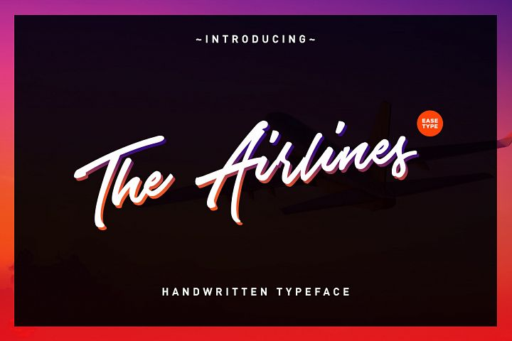 The Airlines - Free Font of The Week Font
