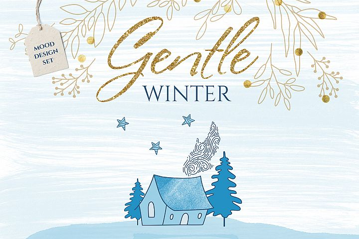 Gentle winter design set