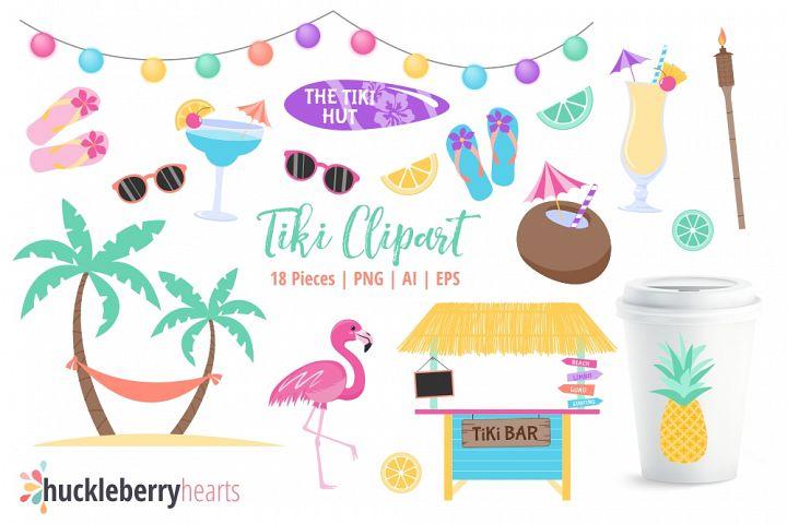 Tiki Bar Clipart